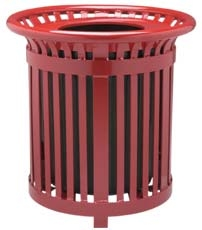 Slatted Receptacle