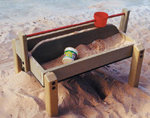 Sand Play Table with Divider
