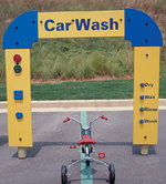 Car Wash w/ Recycled Plastic Posts