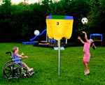 Wheelchair Accessible Funhoop, Permanent Mount