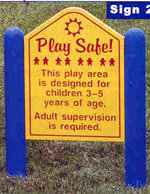 Play Safe Sign