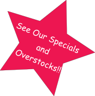 Specials and Overstocks Starburst